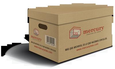 Caja de archivos Mercury