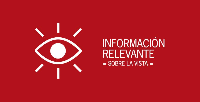Información relevante sobre la vista