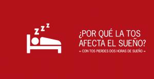Con tos se pierden 2 horas de sueño por día